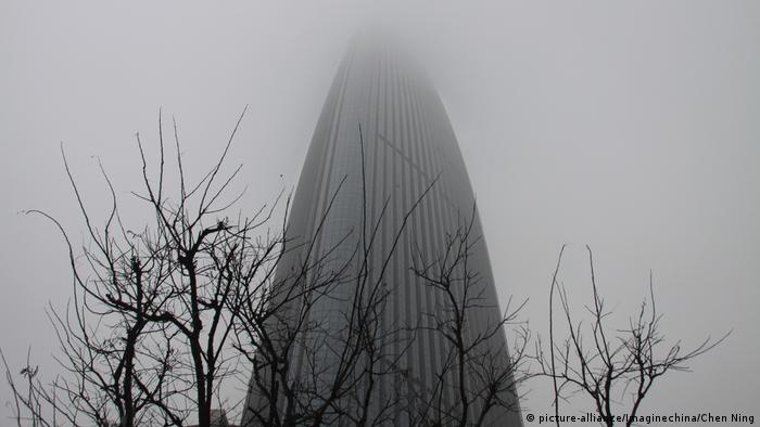 China Smog in Jinan (picture-alliance/Imaginechina/Chen Ning)