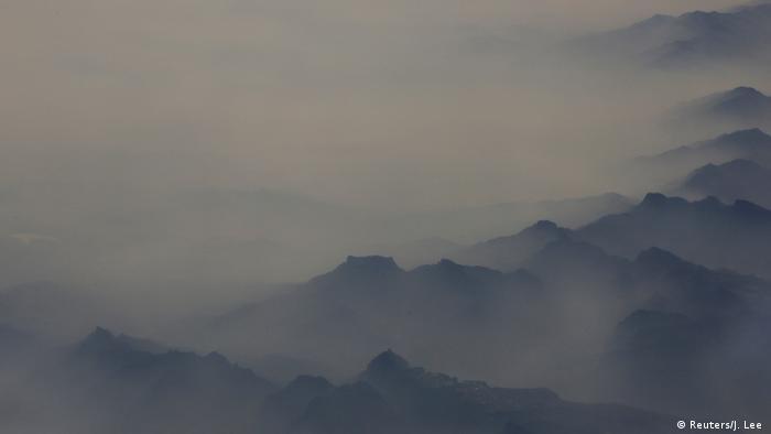 China Smog über der Provinz Hebei (Reuters/J. Lee )