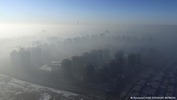 China Smog in Tianjin (Reuters/CHINA STRINGER NETWORK)