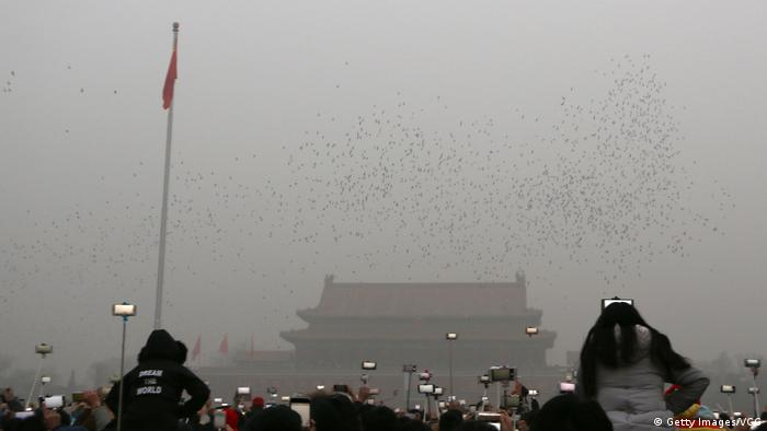 China Smog in Peking (Getty Images/VCG)