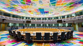 Belgien das neue Gebäude des Europarats in Brüssel