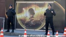 Türkei Polizisten vor dem Reina Nachtclub in Istanbul
