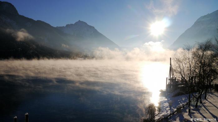 Schneeschuhlaufen am Achensee Tirol