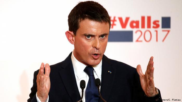 Frankreich Manuel Valls PK zur Kandidatur in Paris (Reuters/C. Platiau)