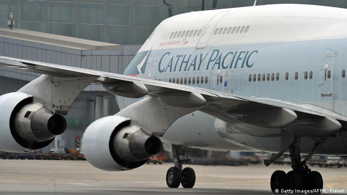 Cathway Pacific Airlines (Getty Images/AFP/L. Fievet)