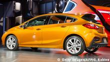 Auto Chevy Cruze von General Motors