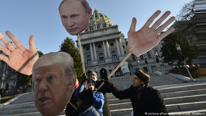 Карикатура на Трампа та Путина