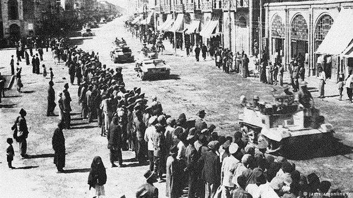 Anglo-Sowjetische Invasion des Iran (jamejamonline.ir)