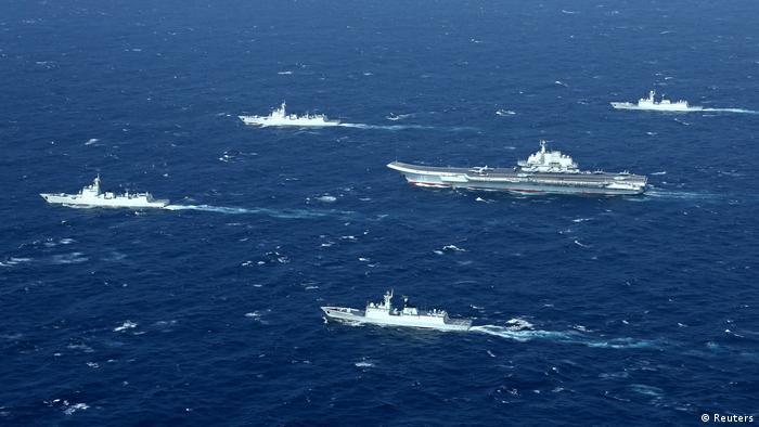 China Liaoning Flugzeugträger