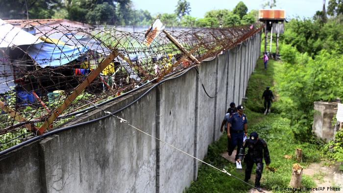 Philippinen Kidapawan Gefängnisausbruch (picture-alliance/AP Photo)