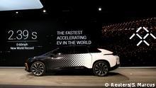 USA CES 2017 Elektrowagen FF91