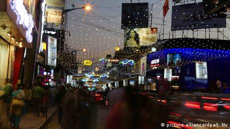 Indien Banglore Silvester (picture-alliance/dpa/J. Nv)