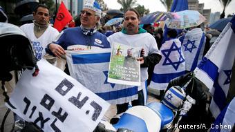 Israel Tel Aviv Prozess Elor Azaria Anhänger