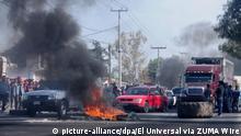 Mexiko Proteste gegen erhöhte Benzinpreise