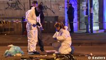 Italien Tatort-Untersuchung nach der Erschiessung von Anis Amri in Mailand