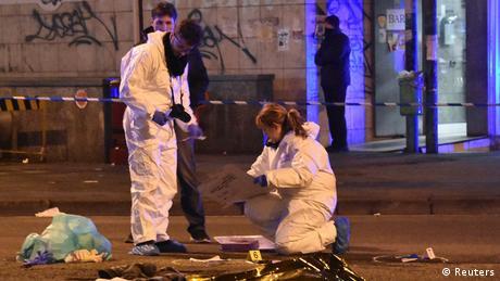 Італійський поліцейський розповів про вбивство