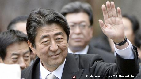 Japan Shinzo Abe (picture-alliance/AP Photo/T. Inaba)