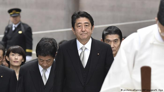 Japan Shinzo Abe (picture-alliance /AP Images/S. Oga)