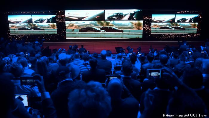 USA CES 2017 in Las Vegas Video zu FF91 (Getty Images/AFP/F. J. Brown)