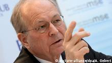 Deutschland Wolfgang Ischinger