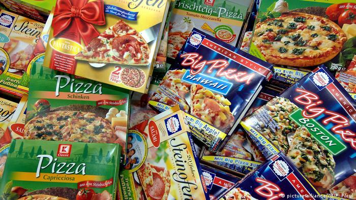 Deutschland Deutsche essen 234.000 Tonnen Tiefkühlpizza pro Jahr