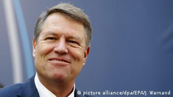 Klaus Iohannis (picture alliance/dpa/EPA/J. Warnand)