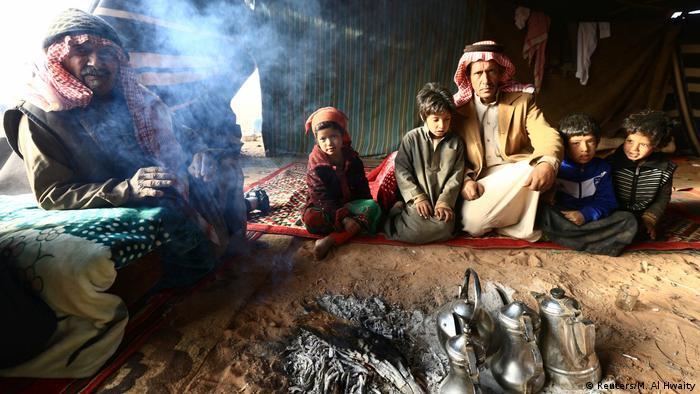 Saudi Arabien Mitglieder der Bidun ethnischen Gruppe (Reuters/M. Al Hwaity)