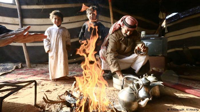 Saudi Arabien Mitglied der Bidun ethnischen Gruppe (Reuters/M. Al Hwaity)