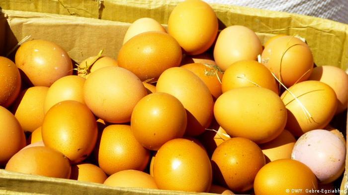 Äthiopien Lebensmittel-Markt in Addis Ababa (DW/Y. Gebre-Egziabher)