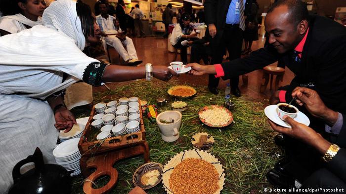 Традиційне кафе в Аддис-Абебі
