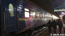 07.12.2016 Overnight sleeper train from Kiev to Odessa