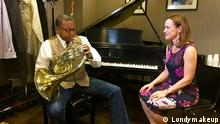 USA Sarah Willis trifft Wynton Marsalis in New York (Londymakeup)