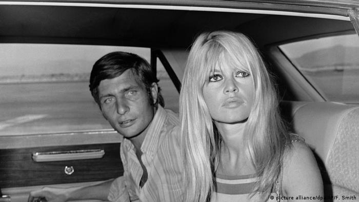 Brigitte Bardot and Gunter Sachs (picture alliance/dpa/AP/F. Smith)