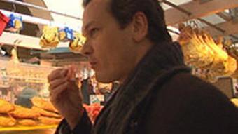 Matthias Klink in der Markthalle
