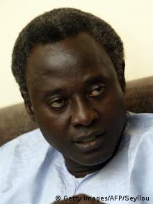 Gambia opposition coalition spokesperson Halifa Sallah (Getty Images/AFP/Seyllou)