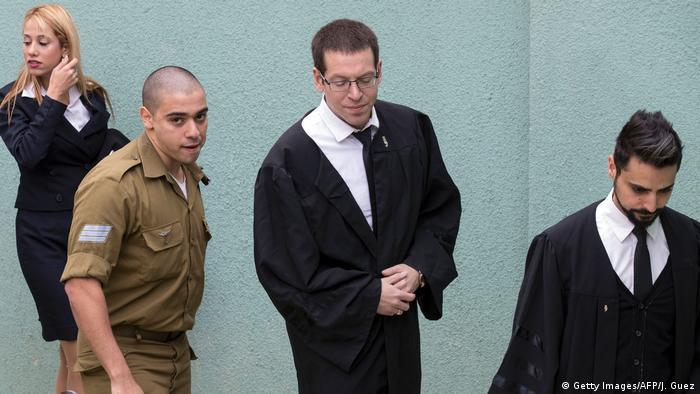 Israel Israelischer Soladat Elor Azaria verurteilt (Getty Images/AFP/J. Guez)