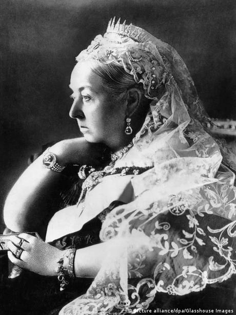 Queen Victoria, pictured in 1890 (picture alliance/dpa/Glasshouse Images)