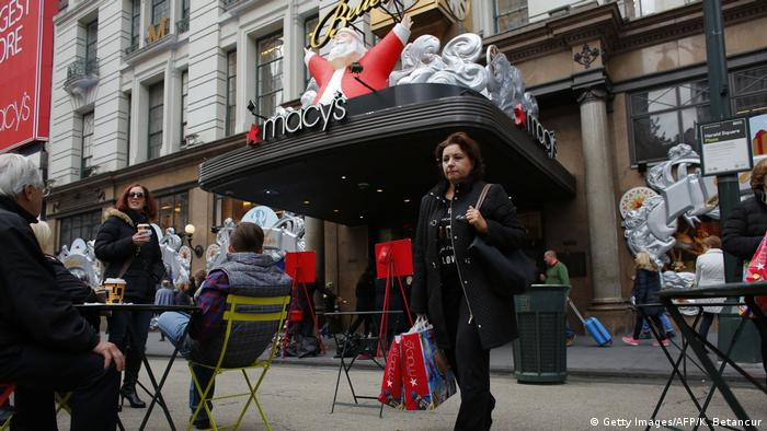 USA Kaufhaus Macy's in New York (Getty Images/AFP/K. Betancur)
