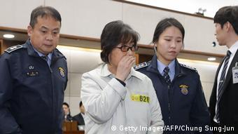 Südkorea Seoul Gerichtsverfahren gegen Choi Soon-Sil, Freundin von Präsidentin Park Geun-Hye