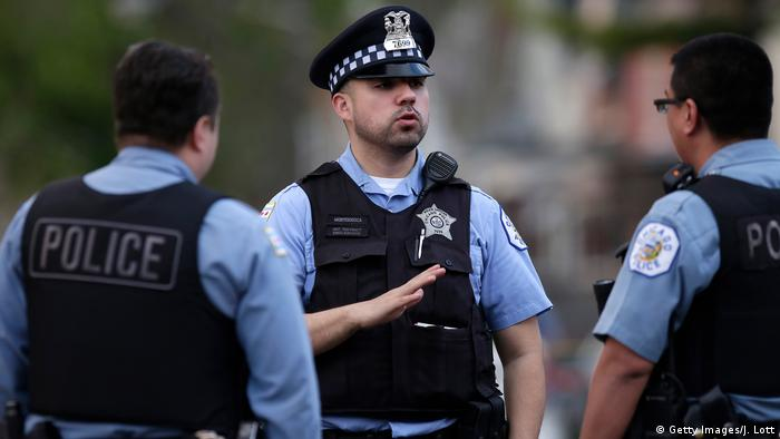 USA Chicago Polizei (Getty Images/J. Lott)