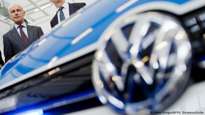 GERMANY-AUTOMOBILE-VOLKSWAGEN (Getty Images/AFP/J. Stratenschulte)