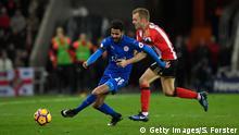 Fußball Leicester City Spieler Riyad Mahrez