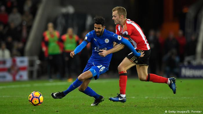 Fußball Leicester City Spieler Riyad Mahrez (Getty Images/S. Forster)