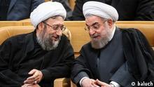 Iran Sadegh Laridschani und Hassan Rohani