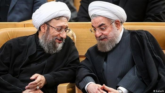 Iran Sadegh Laridschani und Hassan Rohani (baluch)