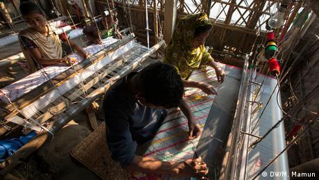 Bangladesch Dhakai Jamdani (DW/M. Mamun)