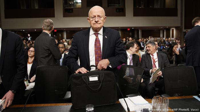 Washington Anhörung Senat James Clapper Nationaler Geheimdienstdirektor (picture-alliance/AP Photo/E. Vucci)