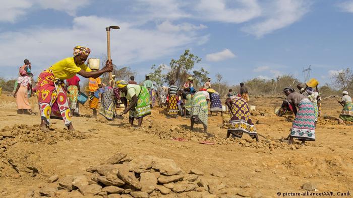 Kenia Dammbau gegen Dürre