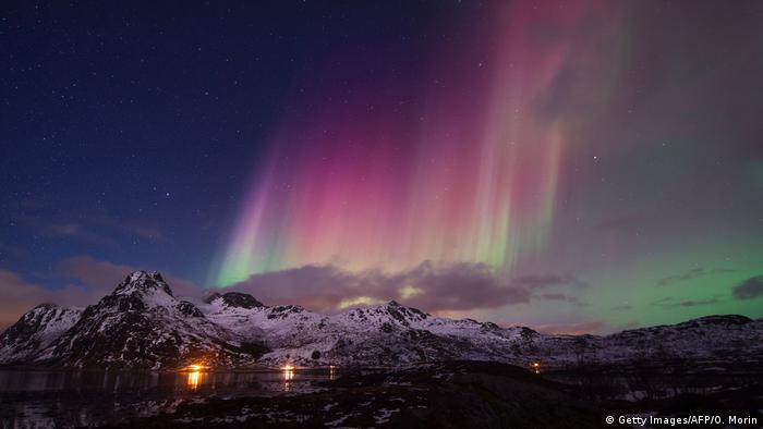 Norwegen Nordlichter (Getty Images/AFP/O. Morin)