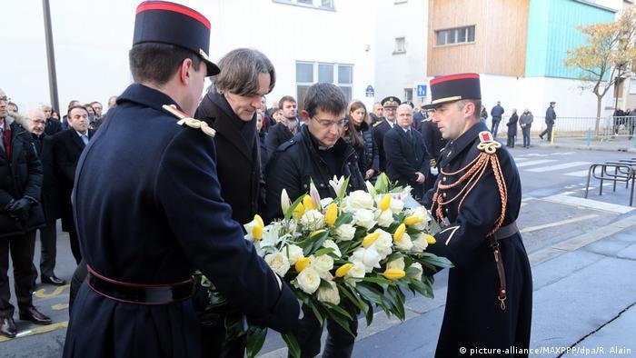 Frankreich | Gedenken an den Anschlag auf Charlie Hebdo in Paris (picture-alliance/MAXPPP/dpa/R. Alain)